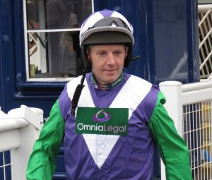 Noel Fehily before his Newbury ride on Friday (22 March) - aboard Goodnitesweetheart for Harry Fry