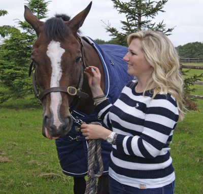 Kauto Star and Laura Collett in July 2013