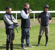 Sean Levey, Richard Hannon & Timmy Murphy