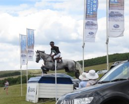 Andrew Nicholson & Swallow Springs clear the Subaru table