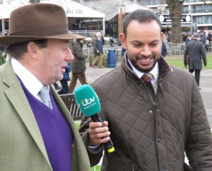 Nicky Henderson interview after the race by Rishi Persad of ITV Racing