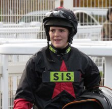Lizzie Kelly after her ride on Aimee De Sivola