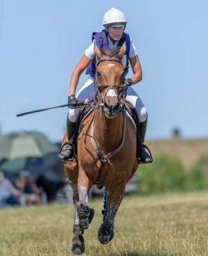 Georgie Strang & Cooley Earl at Barbury in July - © William Carey Photography