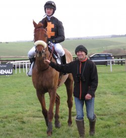Solly Wood rode Sentimentaljourney to a clear victory