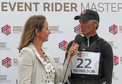 Barbury 2016: Nicholson interviewed by ERM's Alice Plunkett after his victory