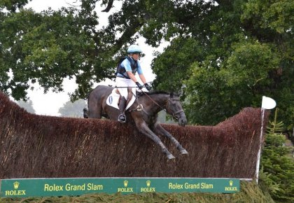 Jonelle & Classic Moet at Burghley