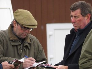 2018:  Alan King & Barbury International Racing Club founder Nigel Bunter