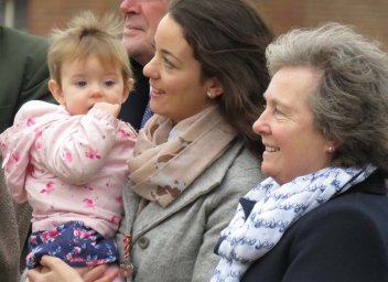 Richard Osgood's wife, daughter & granddaughter