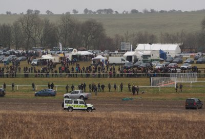Barbury Racecourse - a specialist venue for point-to-points