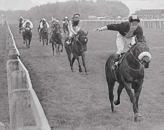 Mill Reef's winning debut at Salisbury, 13 May 1970 - from the Jim Beavis book