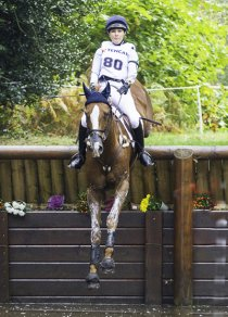 Lizzie & Frank winning at Boekelo (2013) (photo copyright Libby Law Photography - NZ)
