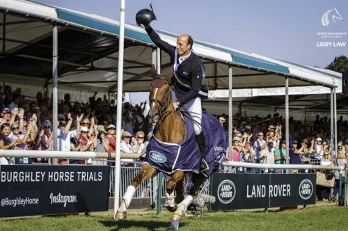 2018: Tim Price wins Burghley with Ringwood Sky Boy  (Photo: ©Libby Law/ESNZ)