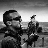 Guy Simmonds...and falcon