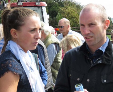 Wayne & Bryony Frost at Neil King's 2018 Open Day