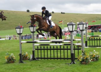 Sweden's Hedvig Wik on Chippieh in Barbury's 2016 ERM contest