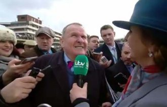 Andrew Gemell's post race interview on ITV Racing