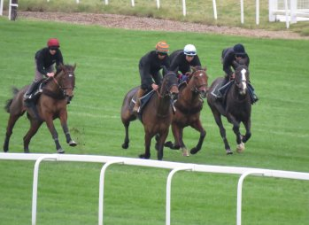 The Warren Greatrex quartet - with Missed Approach second from right