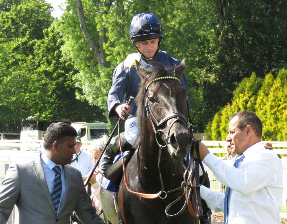 Ryan Moore brings in Desert Icon