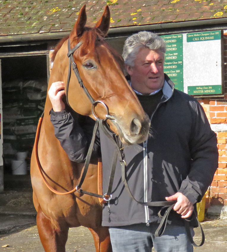 Paul Nicholls with Movewiththetimes