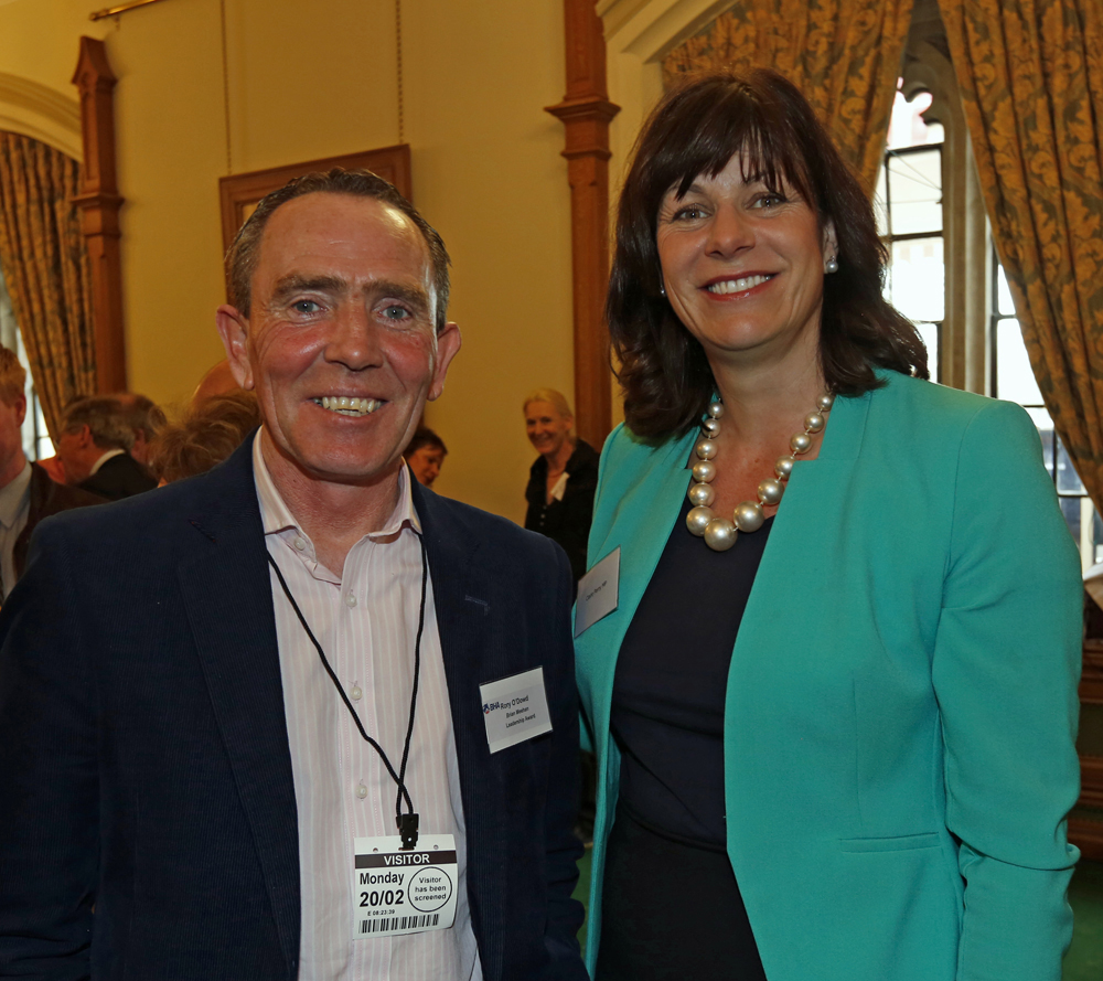Rory O'Dowd with Claire Perry MP