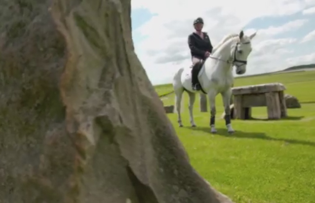 Avebury at the Avebury fence - from the video