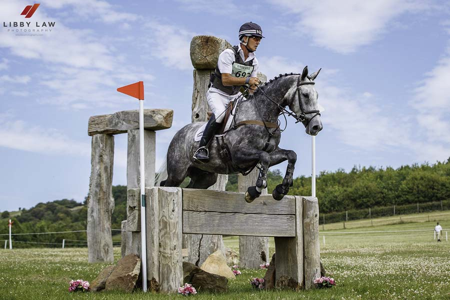 Andrew Nicholson & Damaso at Barbury's Devoucoux Woodhenge (Photo: Libby Law Photography)