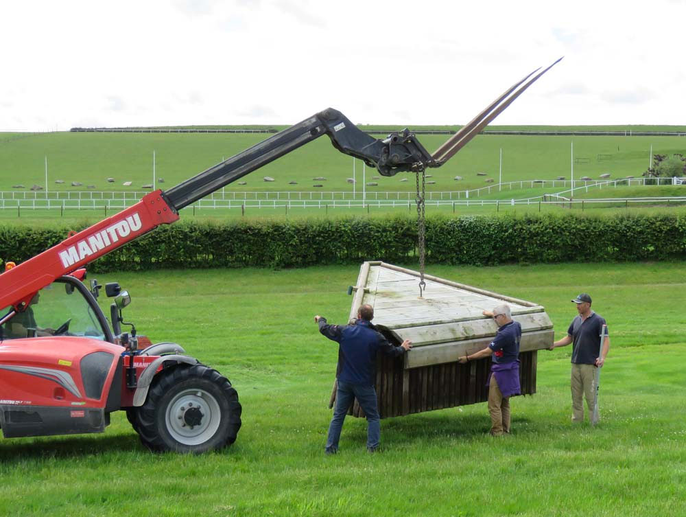 Barbury: cross country preparations