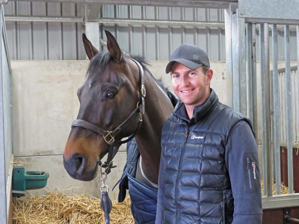 Jesse Campbell with eight year-old gelding Diachello