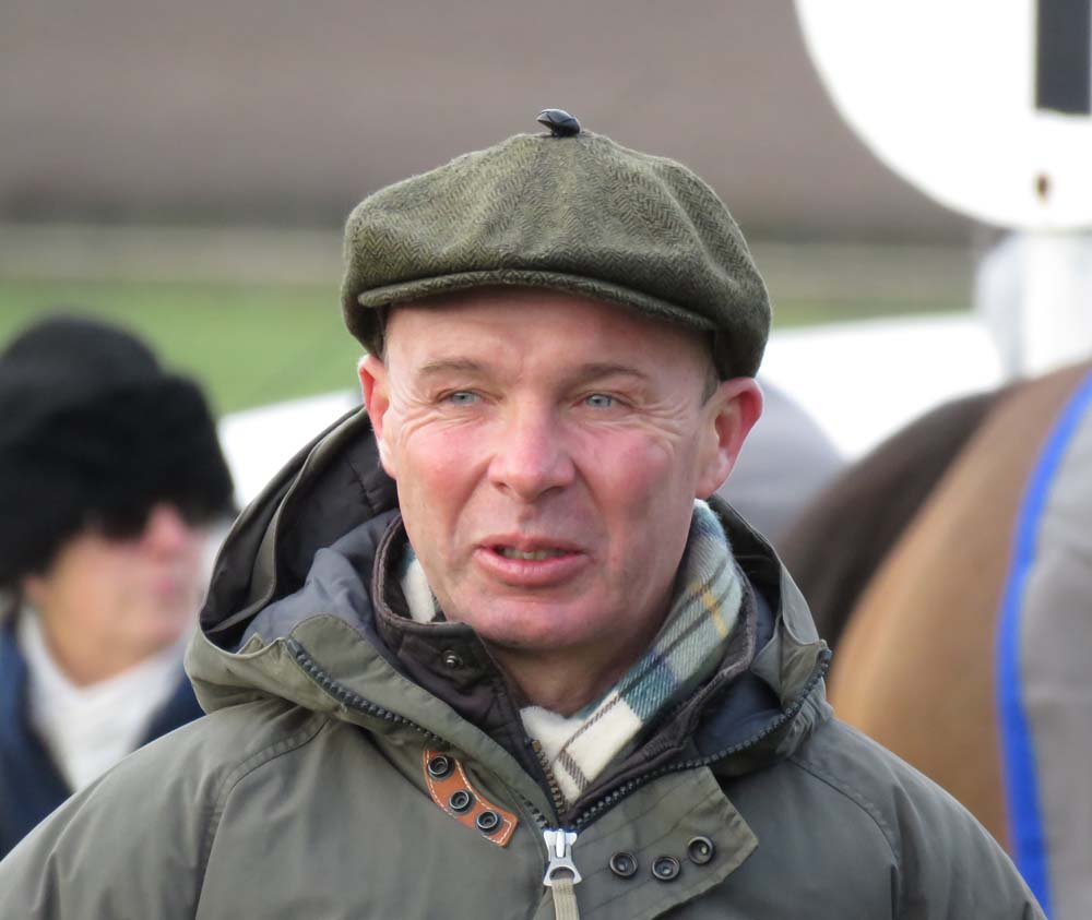 Luke Harvey at last month's Barbury International Point-to-Point