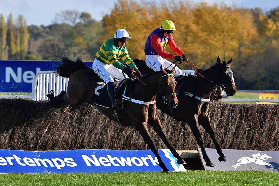 Barry Geraghty & Champ level pegging with Matt Griffiths & Dashel Drasher