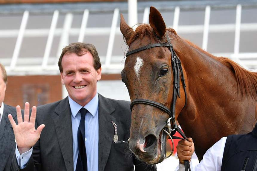 A very happy Richard Hannon