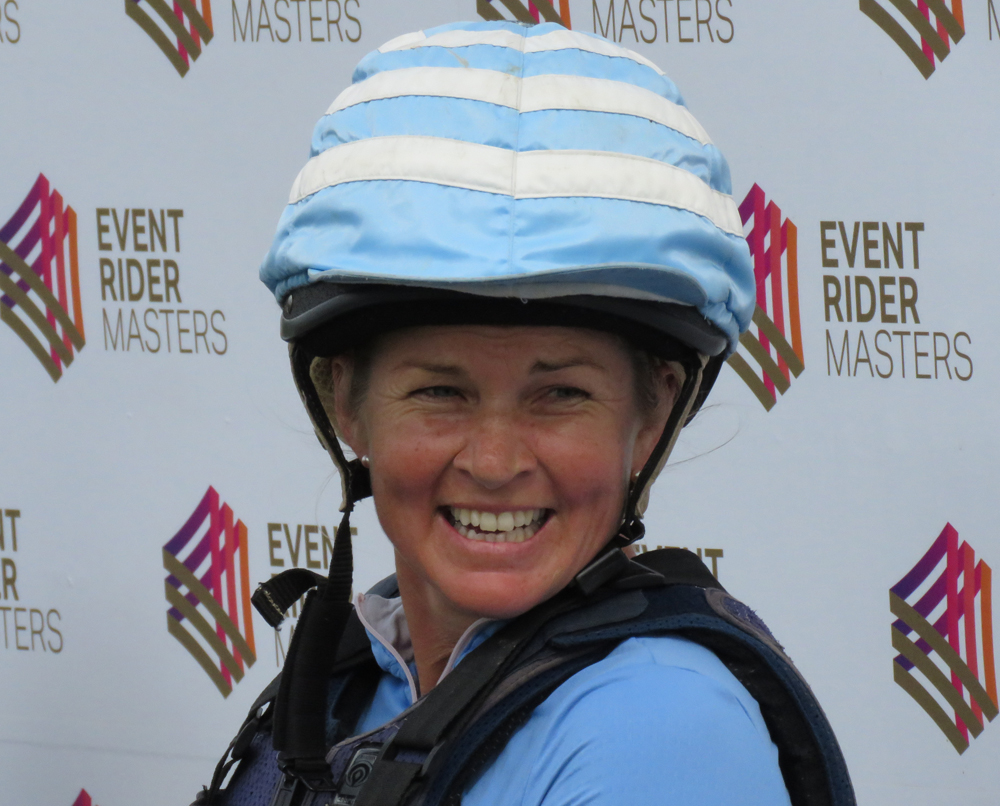 Jonelle savouring success in an early Event Rider Masters competition