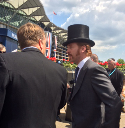 BBC Radio Berkshire Sports Editor Tim Dellor gets a word with Damian Lewis