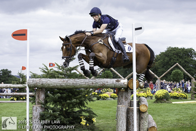 Tim Price & Ringwood Sky Boy at Burghley