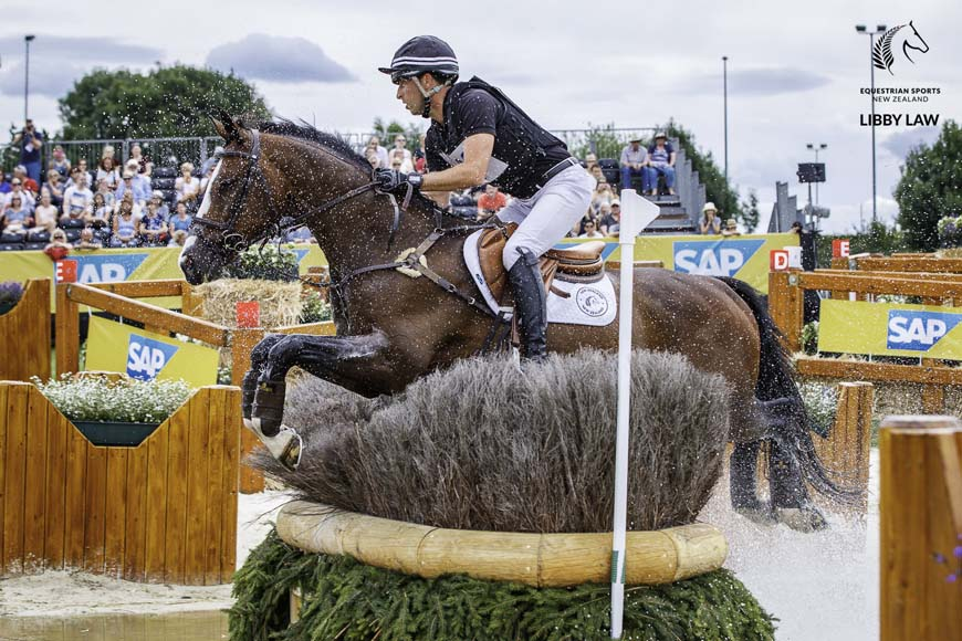 Tim Price rides Wesko to fourth place at Aachen (Photo © Libby Law Photography)