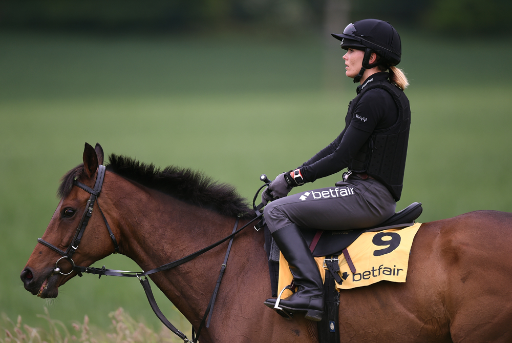 Training is hard work:  riding out (Betfair photo)