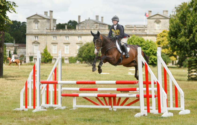 Hattie Ffooks riding Smooth Talk at the Wilton trials (Photo: Topshot Photography)