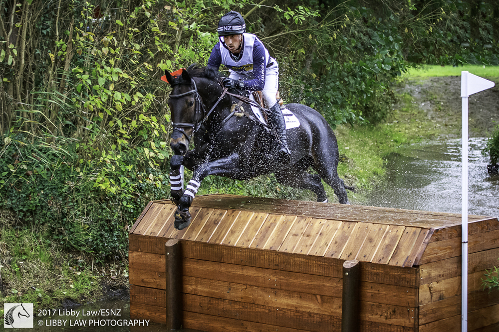 Tim Price and Cekatinka on Boekelo's cross country course